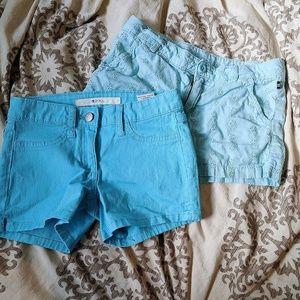 NWT- Cute Girls short pair